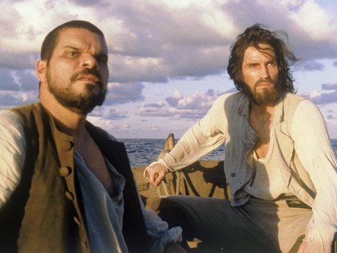 Jim Caviezel and Luis Guzmán in The Count of Monte Cristo (2002)