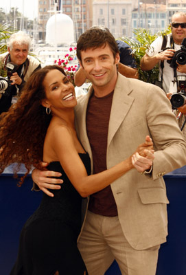 Halle Berry and Hugh Jackman at X-Men: The Last Stand (2006)