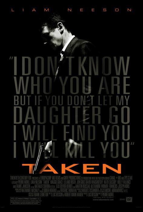 Taken (2008) Tagalog Dubbed