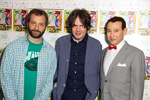 Paul Reubens, Judd Apatow, and Jon Brion