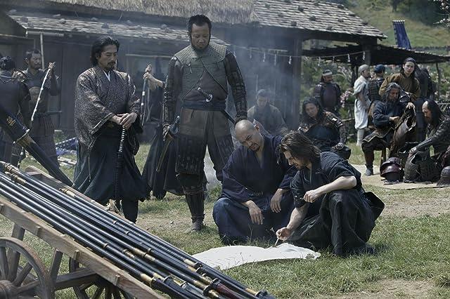 Tom Cruise, Hiroyuki Sanada, Shun Sugata, and Ken Watanabe in The Last Samurai (2003)
