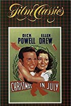 Christmas in July (1940) Poster