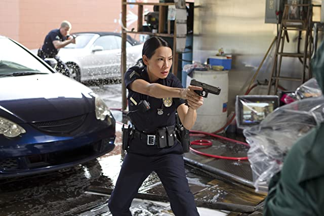 Lucy Liu and Michael Cudlitz in Southland (2009)