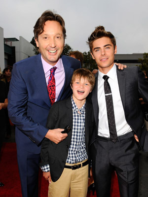 Burr Steers, Zac Efron, and Charlie Tahan at an event for Charlie St. Cloud (2010)