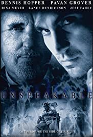 Unspeakable (2002) Poster - Movie Forum, Cast, Reviews