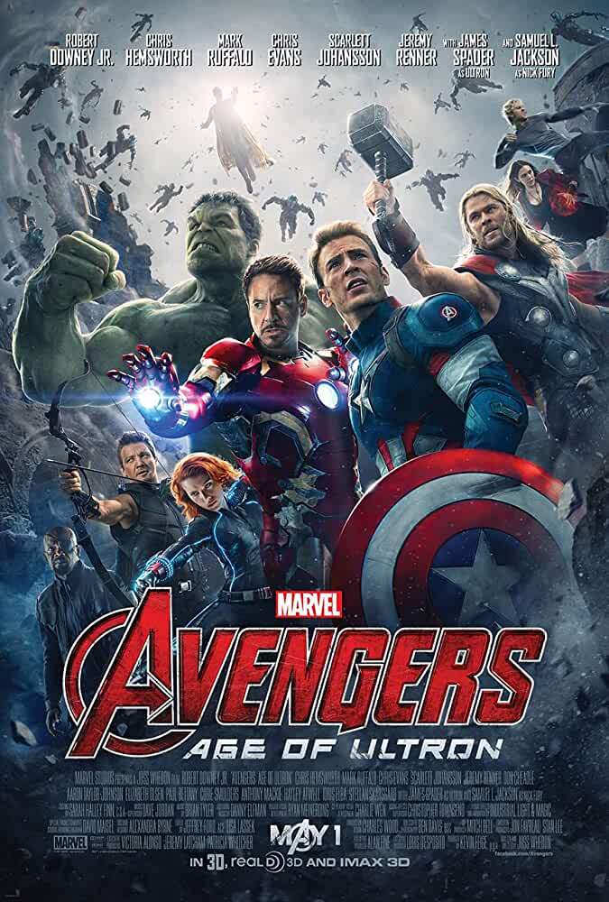 Avengers Age of Ultron 2015 720p BRRip Dual Audio Watch Online Free Download