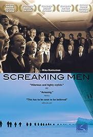 Huutajat - Screaming Men Poster