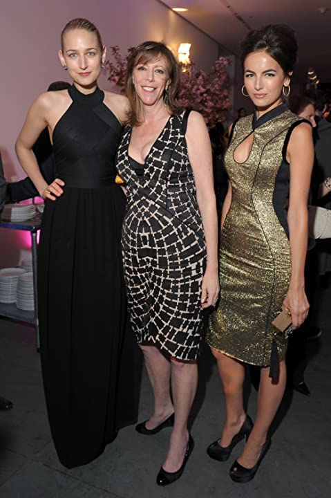 Camilla Belle, Leelee Sobieski, and Jane Rosenthal at The Five-Year Engagement (2012)