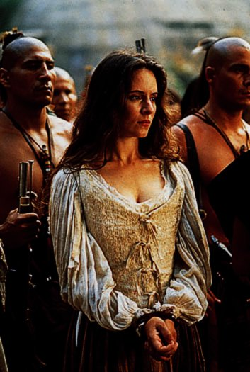 Madeleine Stowe in The Last of the Mohicans (1992)