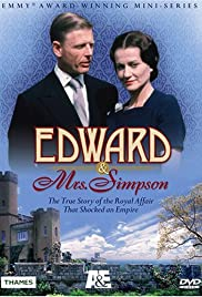 Edward & Mrs. Simpson Poster