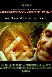 An Unexplained Murder Poster