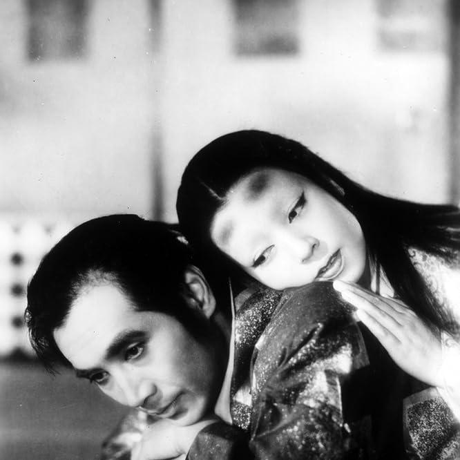 Machiko Kyô and Masayuki Mori in Ugetsu (1953)