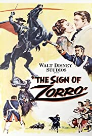 The Sign of Zorro (1958) Poster - Movie Forum, Cast, Reviews