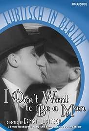 Ich möchte kein Mann sein Poster
