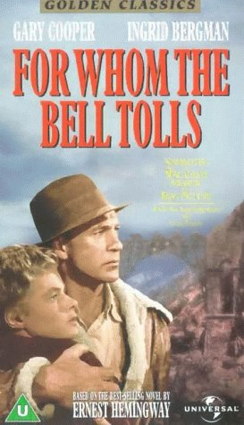 Image result for gary cooper ingrid bergman for whom the bell tolls images