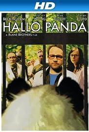 Hallo Panda Poster