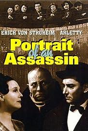 Portrait d'un assassin Poster