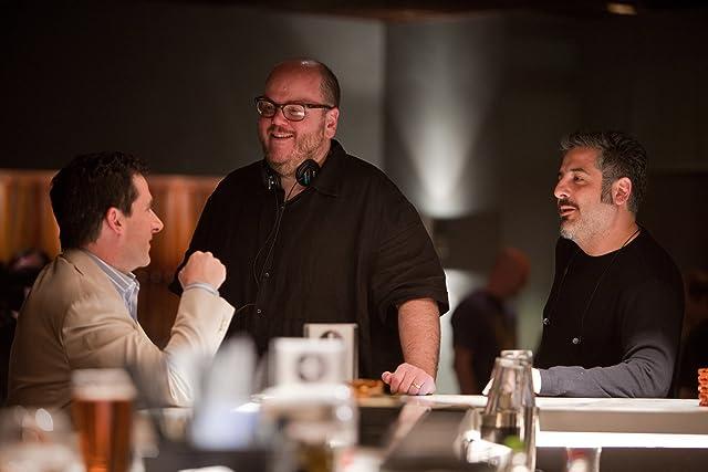 Steve Carell, Glenn Ficarra, and John Requa in Crazy, Stupid, Love. (2011)