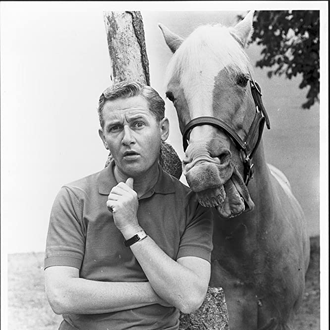 Alan Young and Mister Ed in Mister Ed (1958)