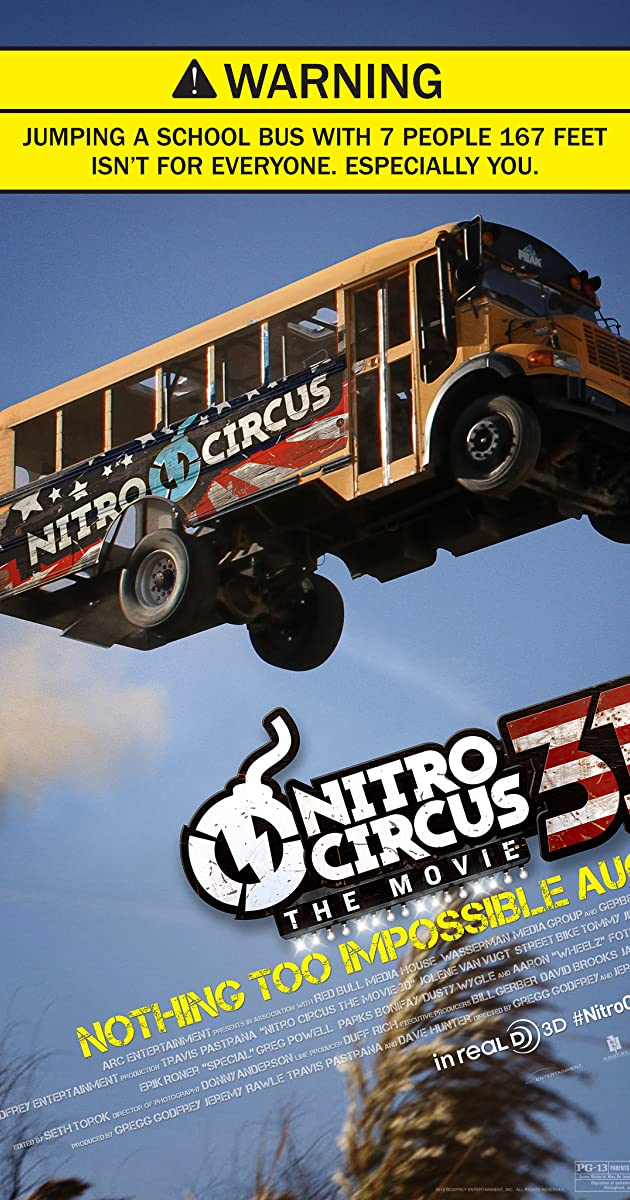 Travis Pastrana Nitro Circus Movie