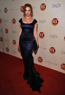 Christina Hendricks at The 61st Primetime Emmy Awards (2009)