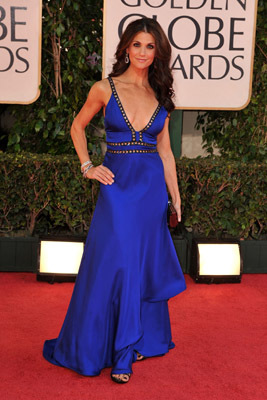 Samantha Harris at an event for The 66th Annual Golden Globe Awards (2009)