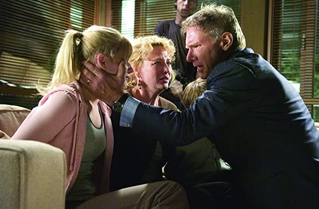 Harrison Ford, Virginia Madsen, and Carly Schroeder in Firewall (2006)