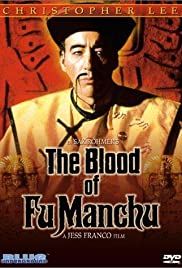 The Blood of Fu Manchu Poster
