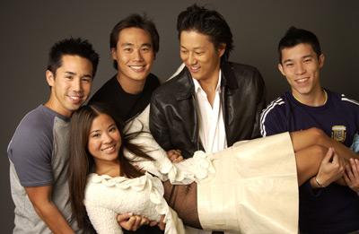 Karin Anna Cheung, Roger Fan, Sung Kang, Parry Shen, and Jason Tobin at Better Luck Tomorrow (2002)