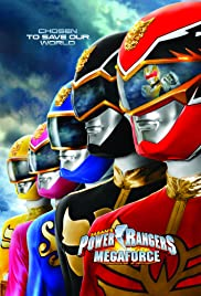Power Rangers Megaforce Poster