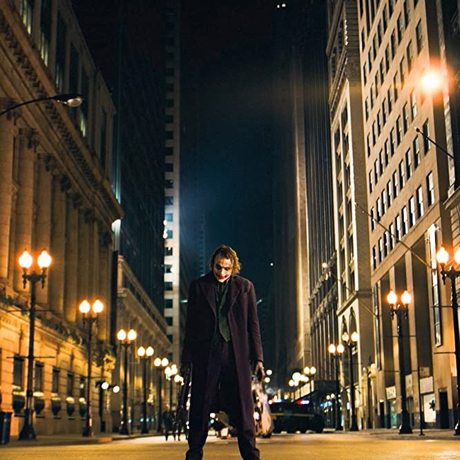 Heath Ledger in The Dark Knight (2008)