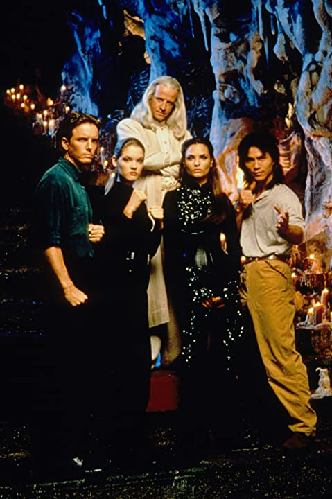 Christopher Lambert, Talisa Soto, Linden Ashby, Robin Shou, and Bridgette Wilson-Sampras in Mortal Kombat (1995)