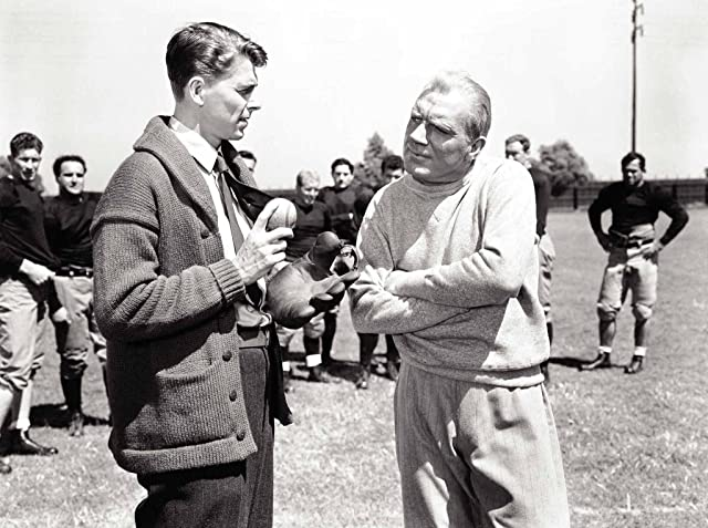 Ronald Reagan and Pat O'Brien in Knute Rockne All American (1940)