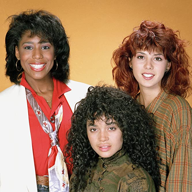 Marisa Tomei, Lisa Bonet, and Dawnn Lewis in A Different World (1987)