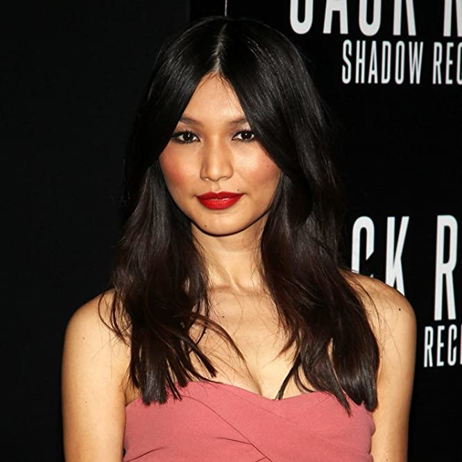 Gemma Chan attends the premiere of Paramount Pictures' Jack Ryan: Shadow Recruit at the TCL Chinese Theatre in Hollywood on January 15, 2014