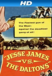 Jesse James vs. the Daltons Poster
