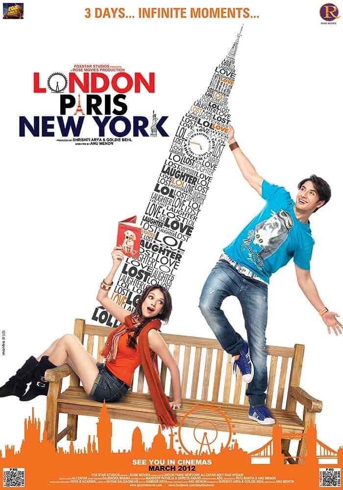 London Paris New York (2012) Full Movie Free Download Hindi 720p