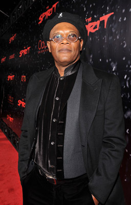 Samuel L. Jackson at an event for The Spirit (2008)