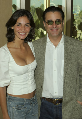 Andy Garcia and Inés Sastre at The Lost City (2005)