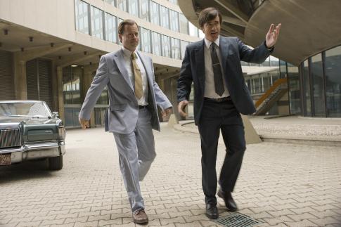 Dermot Mulroney and Greg Kinnear in Flash of Genius (2008)