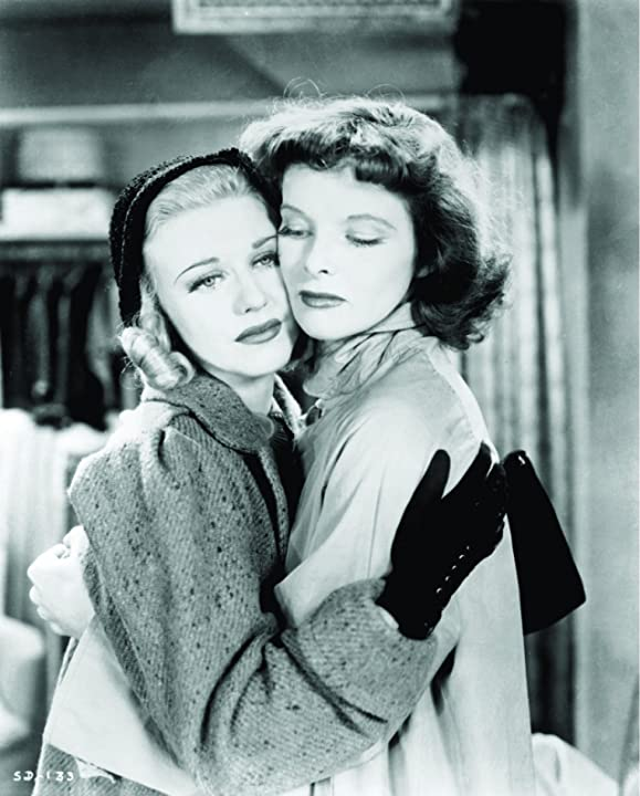 Katharine Hepburn and Ginger Rogers in Stage Door (1937)