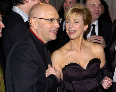 Kathy Baker and Anthony Minghella