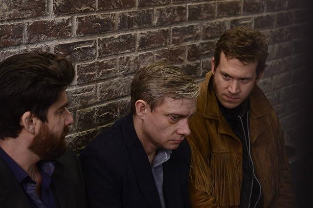 Adam Goldberg, Martin Freeman, and Russell Harvard in Fargo (2014)