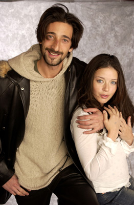 Adrien Brody and Charlotte Ayanna at Love the Hard Way (2001)