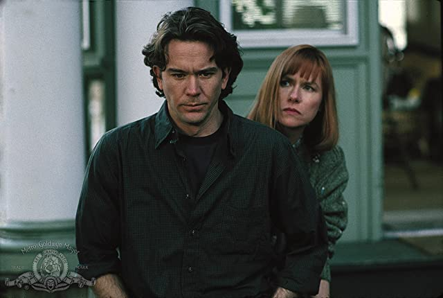 Timothy Hutton and Amy Madigan in The Dark Half (1993)
