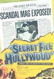 Secret File: Hollywood Poster