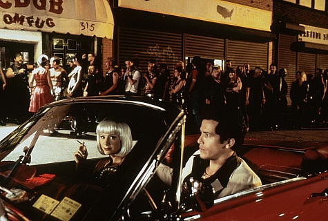Mira Sorvino and John Leguizamo in Summer of Sam (1999)