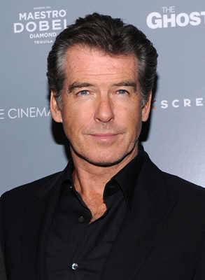 Pierce Brosnan at The Ghost Writer (2010)
