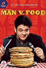 Man v. Food Poster - TV Show Forum, Cast, Reviews