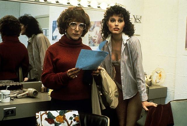Geena Davis and Dustin Hoffman in Tootsie (1982)